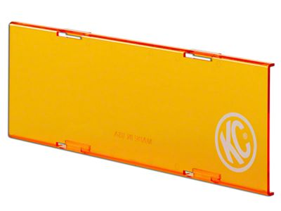 KC HiLiTES 10 in. C-Series Cover - Orange (07-18 Silverado 1500)