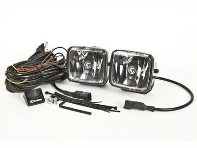 KC HiLiTES 3x4 in. Gravity G34 LED Light - Wide-40 Beam - Pair