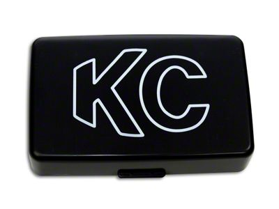 KC HiLiTES 5x7 in. 57 Series Cover - Black (07-18 Silverado 1500)