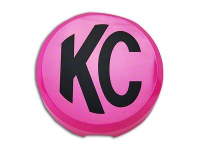 KC HiLiTES 6 in. Daylighter/Slimlite Cover - Pink (07-18 Silverado 1500)