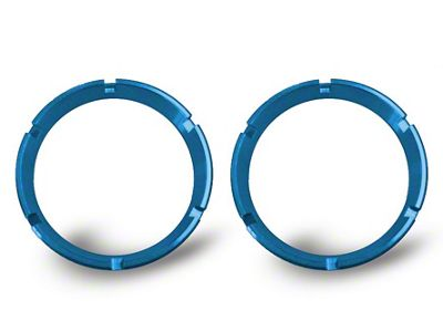KC HiLiTES Blue Bezel Ring for Flex LED