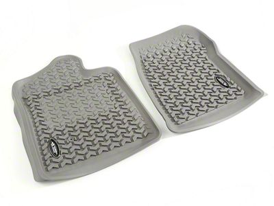 Rugged Ridge All-Terrain Front Floor Liners - Gray (07-13 Silverado 1500)