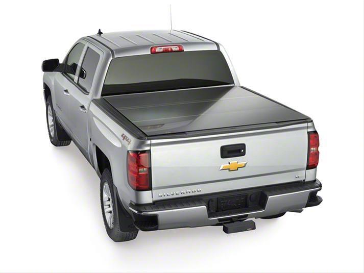 Weathertech AlloyCover Hard Tri-Fold Tonneau Cover (14-18 Silverado 1500 w/ Short or Standard Box)