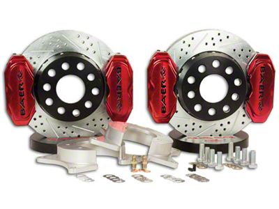 Baer AlumaSport Plus Front Brake Kit - Red (07-18 Silverado 1500)