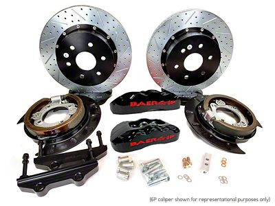 Baer Extreme Plus Rear Brake Kit - Black (07-18 Silverado 1500)