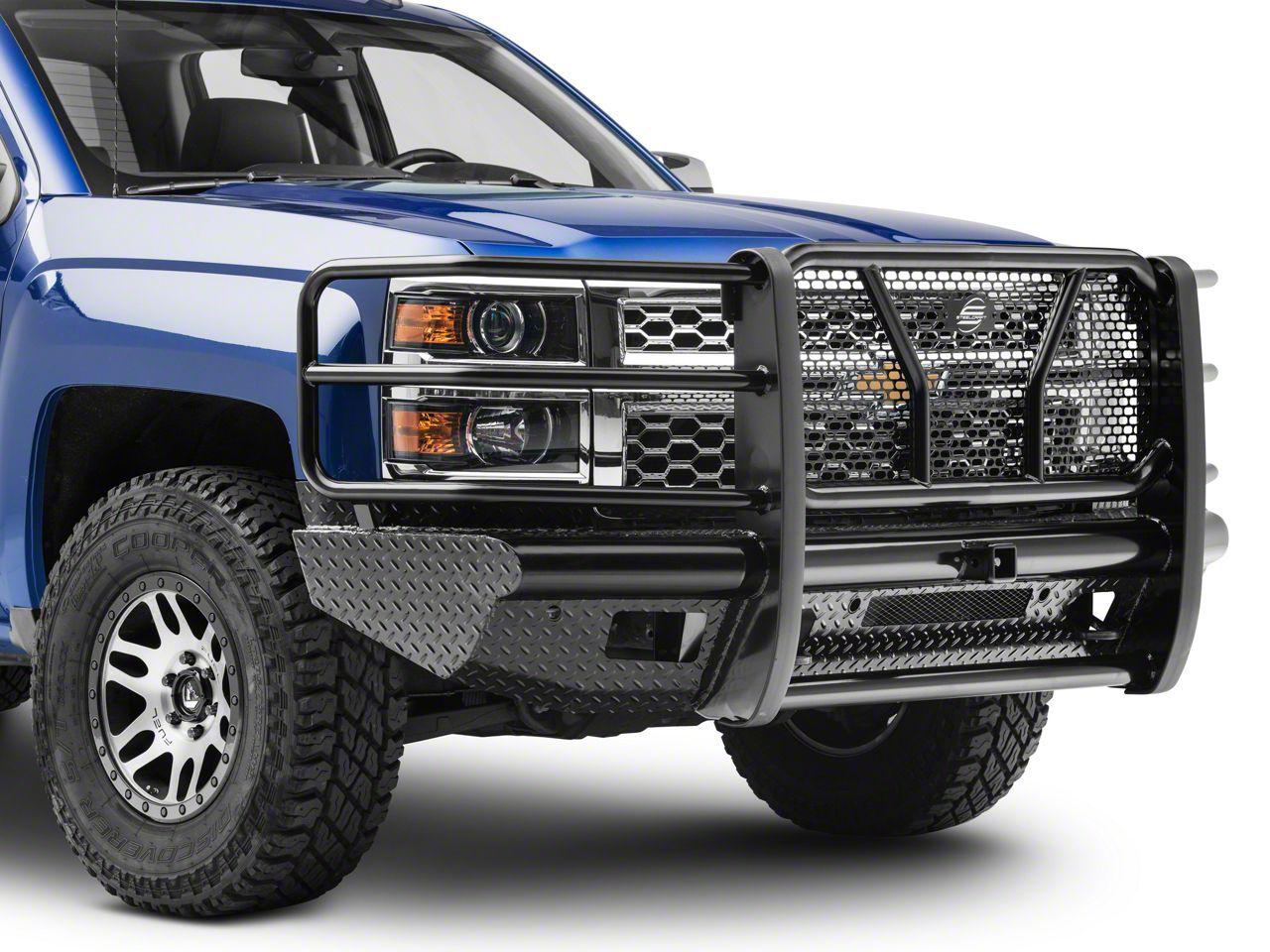 Steel Craft HD Replacement Front Bumper (14-18 Silverado 1500)