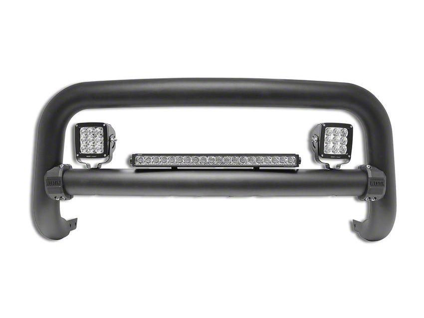 Westin Contour 3.5 in. Bull Bar - Textured Black (14-15 Silverado 1500)