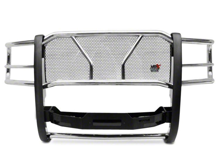 Westin HDX Winch Mount Grille Guard - Stainless Steel (16-18 Silverado 1500)