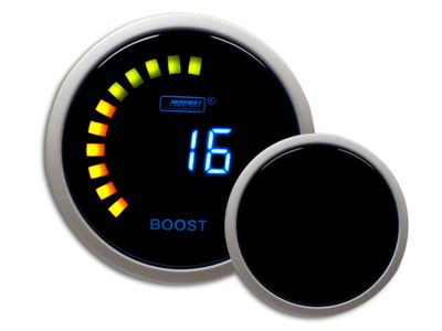 Prosport Digital 45 PSI Boost Gauge - Electrical (99-18 Silverado 1500)
