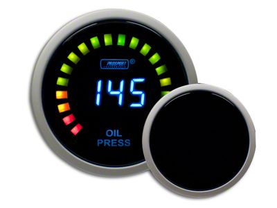 Prosport Digital Oil Pressure Gauge - Electrical (99-18 Silverado 1500)