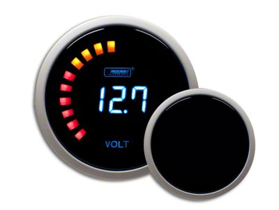 Prosport Digital Volt Gauge - Electrical (99-18 Silverado 1500)