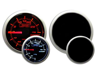 Prosport Dual Color 30 PSI Boost Gauge - Electrical - Amber/White (99-18 Silverado 1500)