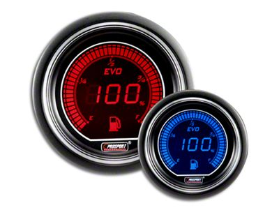 Prosport Dual Color Evo Fuel Level Gauge - Electrical - Red/Blue (99-18 Silverado 1500)