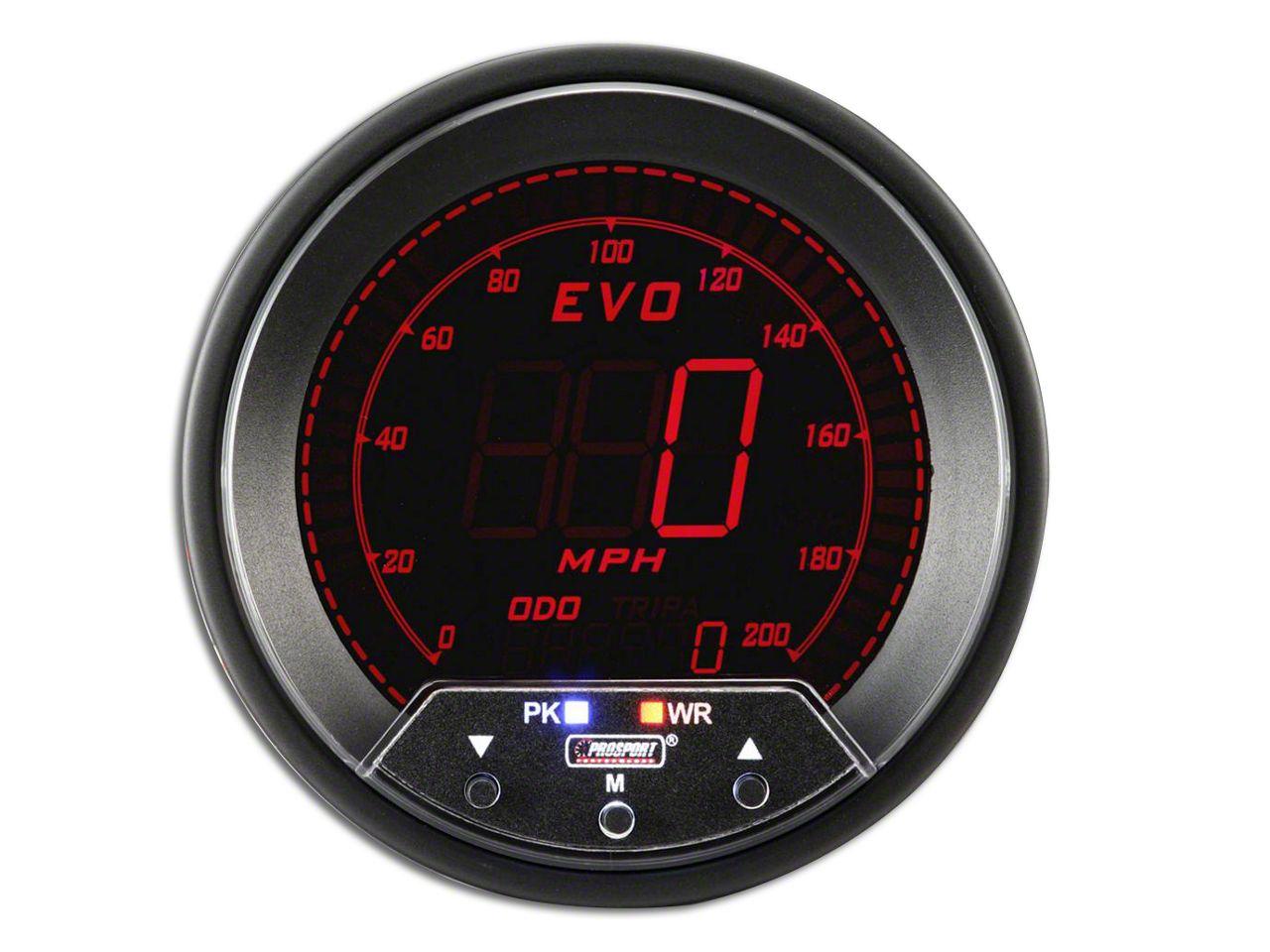 Prosport Quad Color Evo Speedometer - 85mm (99-18 Silverado 1500)