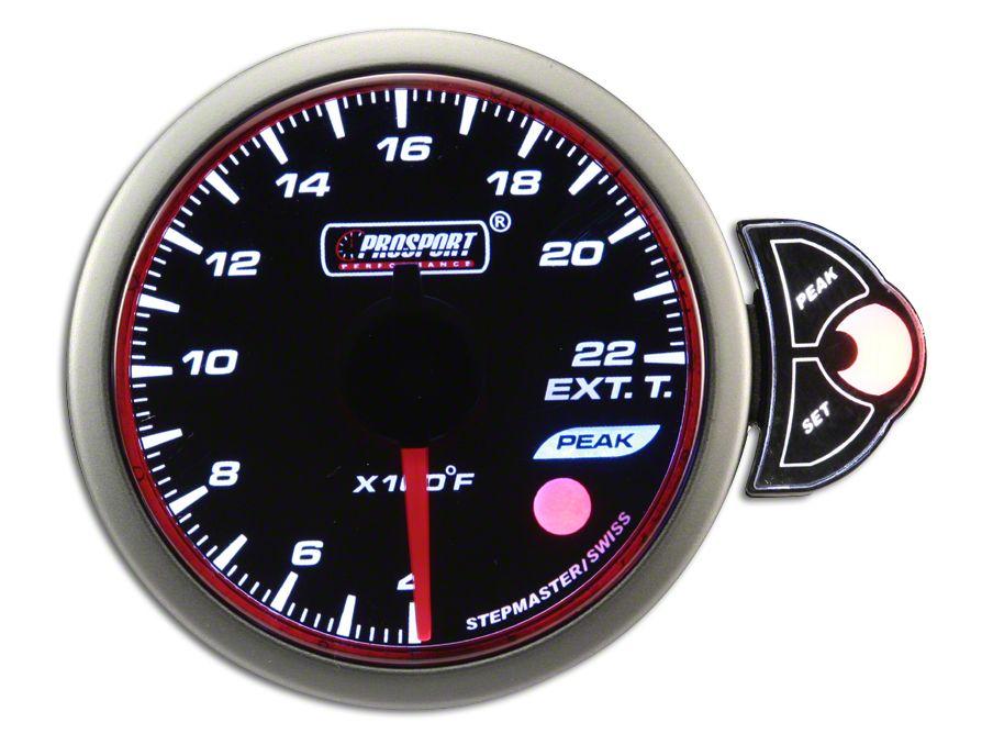 Prosport Halo Exhaust Gas Temperature Gauge (99-18 Silverado 1500)
