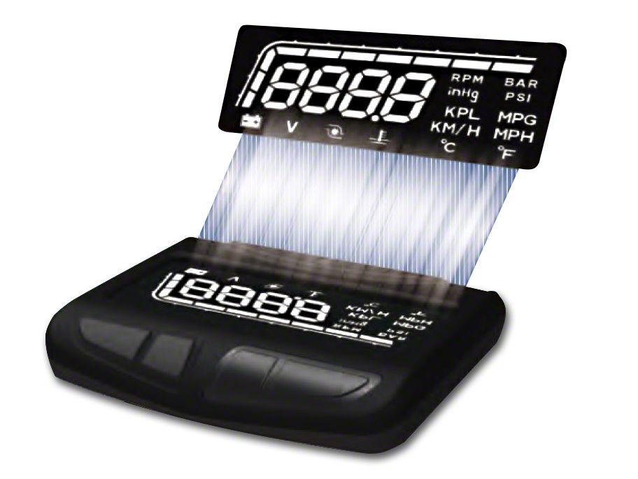 Prosport HUD Display Boost Gauge (99-18 Silverado 1500)