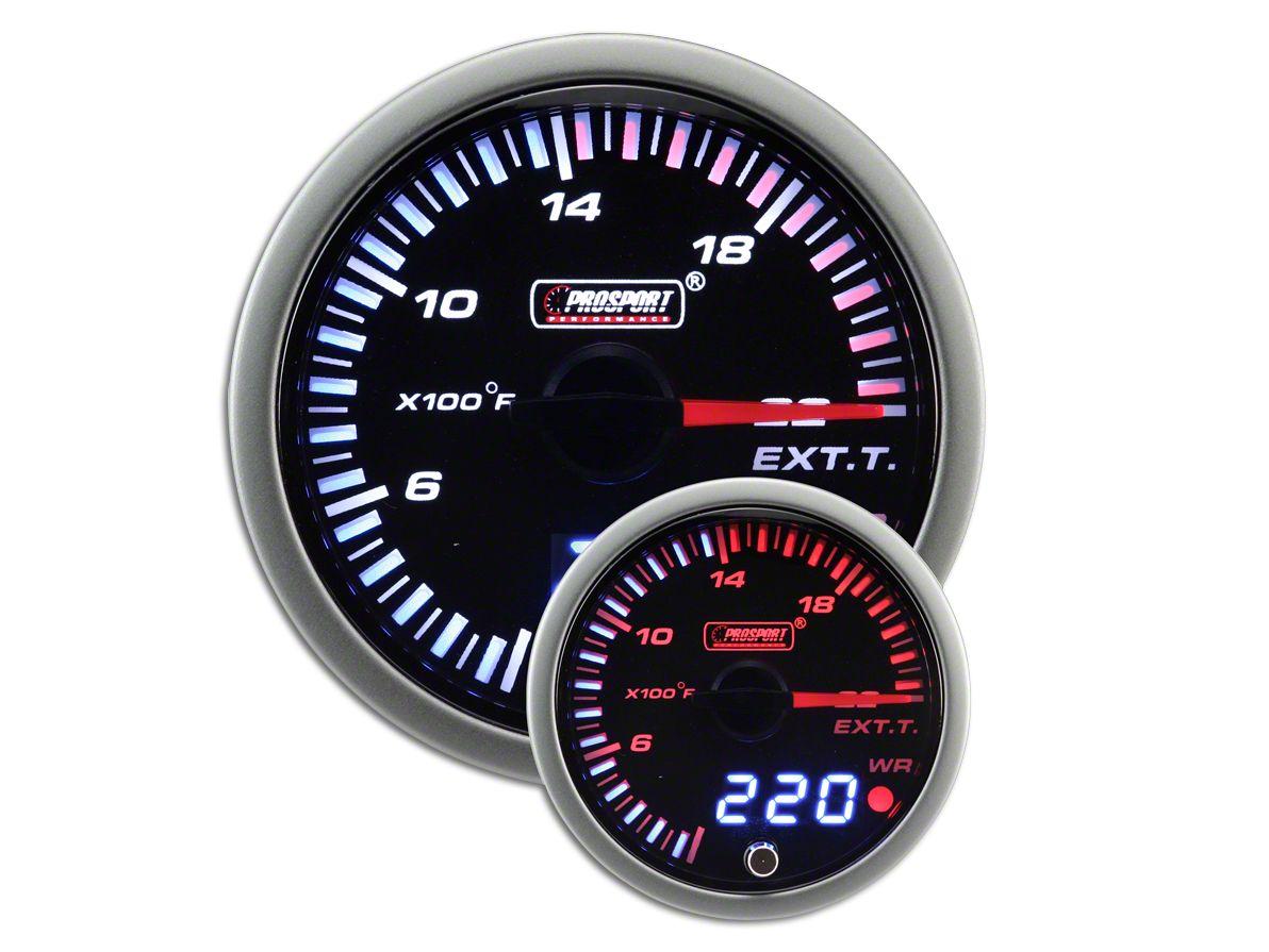 Prosport JDM Exhaust Gas Temperature Gauge - Electrical (99-18 Silverado 1500)