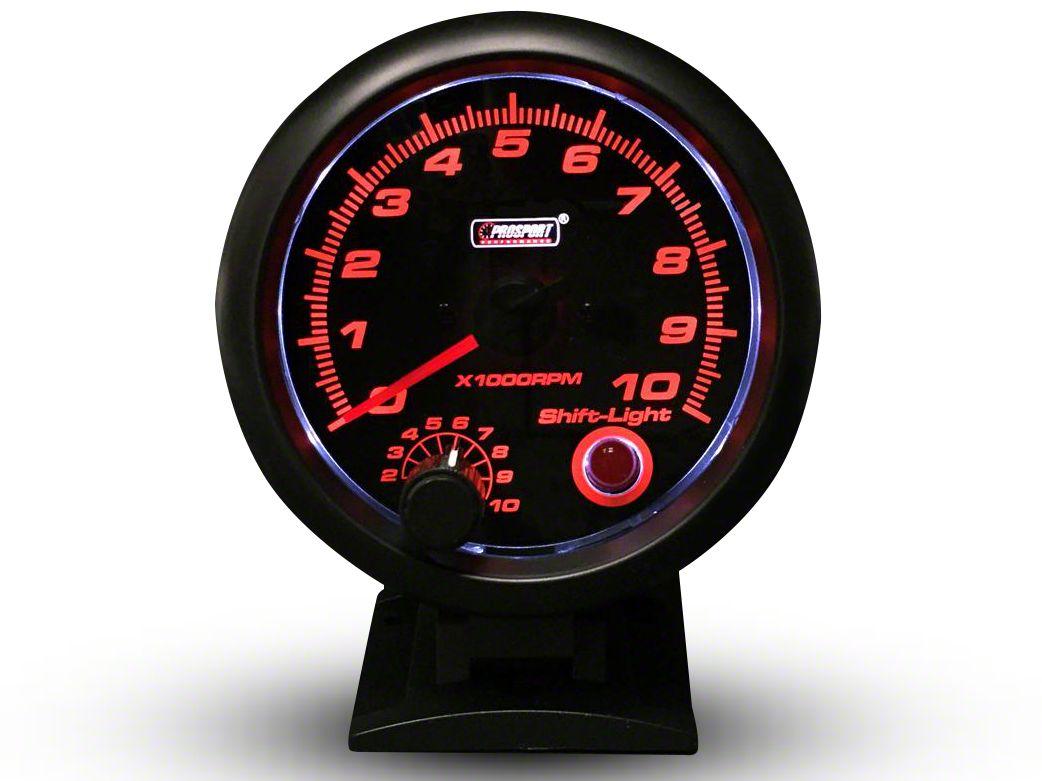 Prosport Performance Tachometer w/Shift Light - 3-3/4 in. (99-18 Silverado 1500)