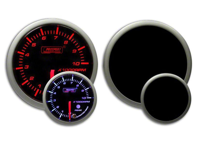 Prosport Dual Color Premium Dual Color Tachometer - Amber/White (99-18 Silverado 1500)