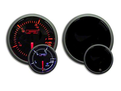 Prosport Dual Color Premium Fuel Level Gauge - Amber/White (99-18 Silverado 1500)