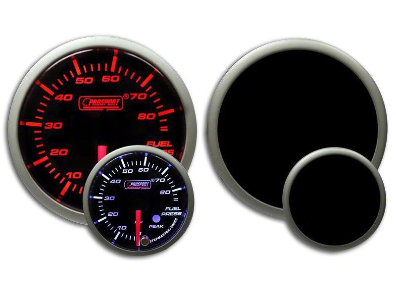 Prosport Dual Color Premium Fuel Pressure Gauge - Amber/White (99-18 Silverado 1500)