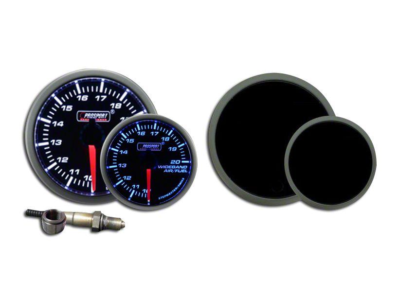 Prosport Dual Color Premium Wideband Air Fuel Ratio Kit - Blue/White (99-18 Silverado 1500)