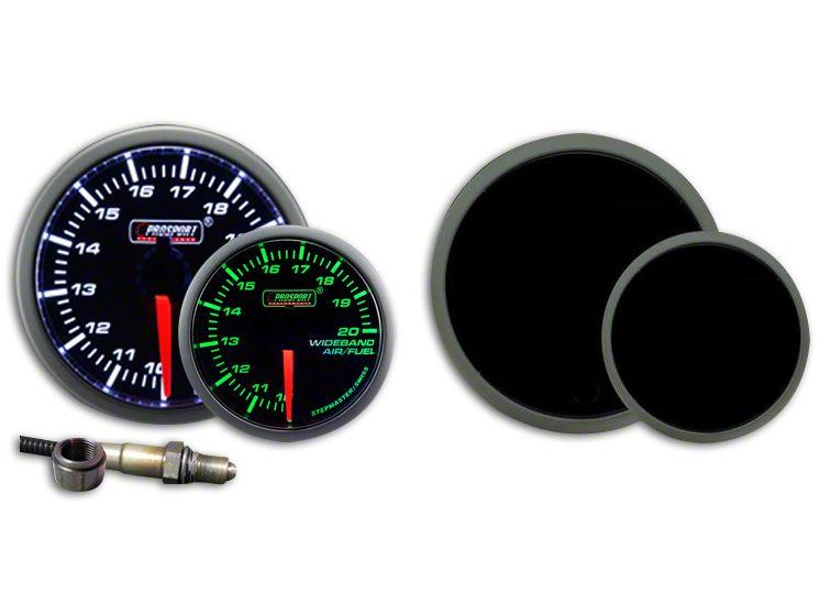 Prosport Dual Color Premium Wideband Air Fuel Ratio Kit - Green/White (99-18 Silverado 1500)