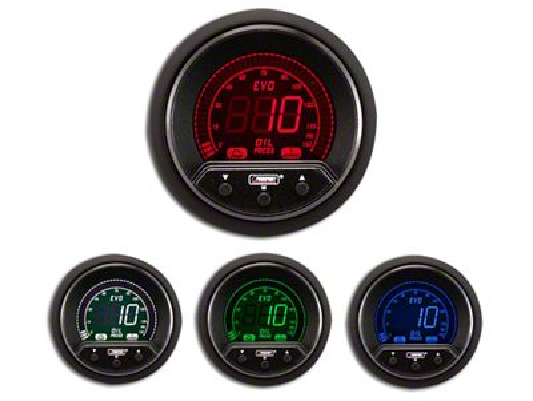 Prosport Premium Evo Oil Pressure Gauge - Electrical (99-18 Silverado 1500)