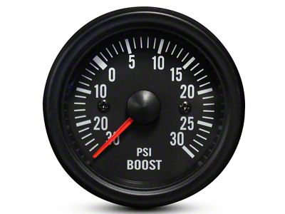 Prosport White LED Boost Gauge - Electrical (99-18 Silverado 1500)