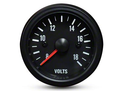 Prosport White LED Volt Gauge - Electrical (99-19 Silverado 1500)