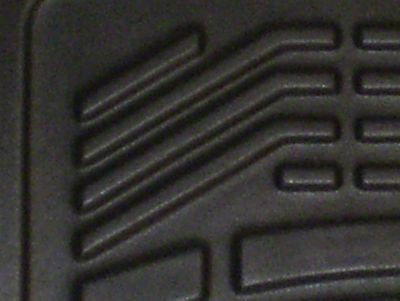 Wade Sure-Fit Front Floor Mats - Black (07-13 Silverado 1500)