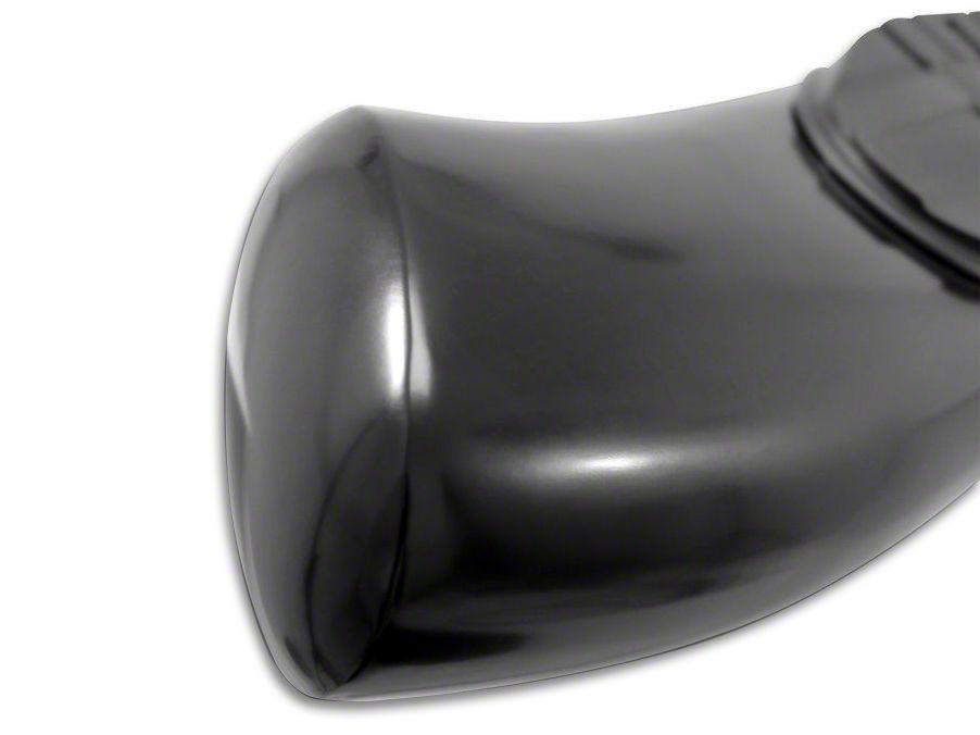 Westin Pro Traxx 5 in. Oval Side Step Bars - Black (07-13 Silverado 1500)