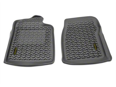 Barricade Front Floor Mats - Gray (07-13 Silverado 1500 Regular Cab)