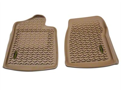Barricade Front Floor Mats - Tan (07-13 Silverado 1500 Regular Cab)