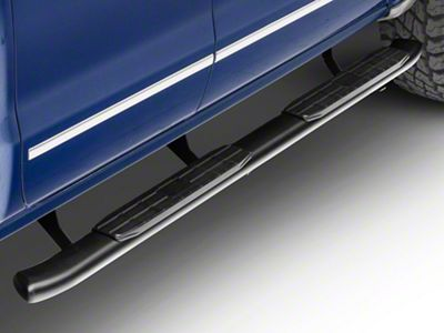 Steel Craft 4 in. Blackout Series Rocker Mount Side Step Bars (14-18 Silverado 1500 Double Cab, Crew Cab)
