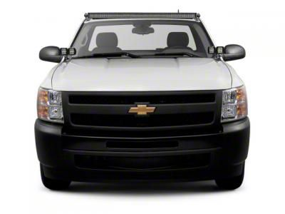 ZRoadz Four 3 in. LED Light Cubes w/ Hood Hinge Mounting Brackets (07-13 Silverado 1500)