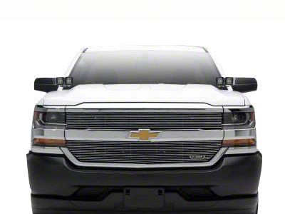 ZRoadz Four 3 in. LED Light Cubes w/ Hood Hinge Mounting Brackets (14-18 Silverado 1500)