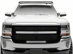 ZRoadz 50 in. LED Light Bar Roof Mounting Brackets (07-13 Silverado 1500)