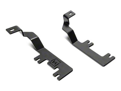 ZRoadz Two 3 in. LED Light Cubes Hood Hinge Mounting Brackets (14-18 Silverado 1500)