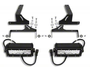 ZRoadz 6 in. LED Light Bar Rear Bumper Mounting Brackets (07-13 Silverado 1500)