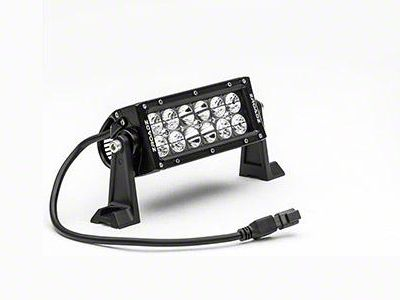 ZRoadz 6 in. Double Row Straight LED Light Bar - Spot Beam