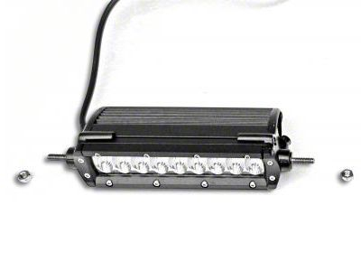 ZRoadz 6 in. Single Row Slim Line Straight LED Light Bar - Flood Beam