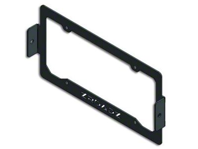 ZRoadz License Plate Frame Mount w/ Two 3 Inch LED Cubes (99-18 Silverado 1500)