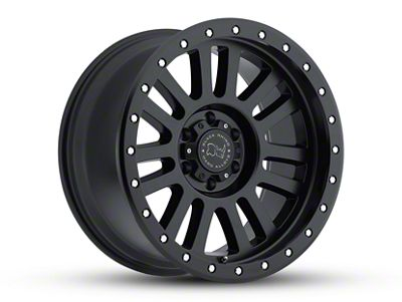 Black Rhino El Cajon Matte Black 6-Lug Wheel - 17x9 (99-18 Silverado 1500)