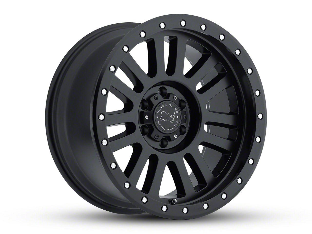 Black Rhino El Cajon Matte Black 6-Lug Wheel - 18x9 (99-18 Silverado 1500)