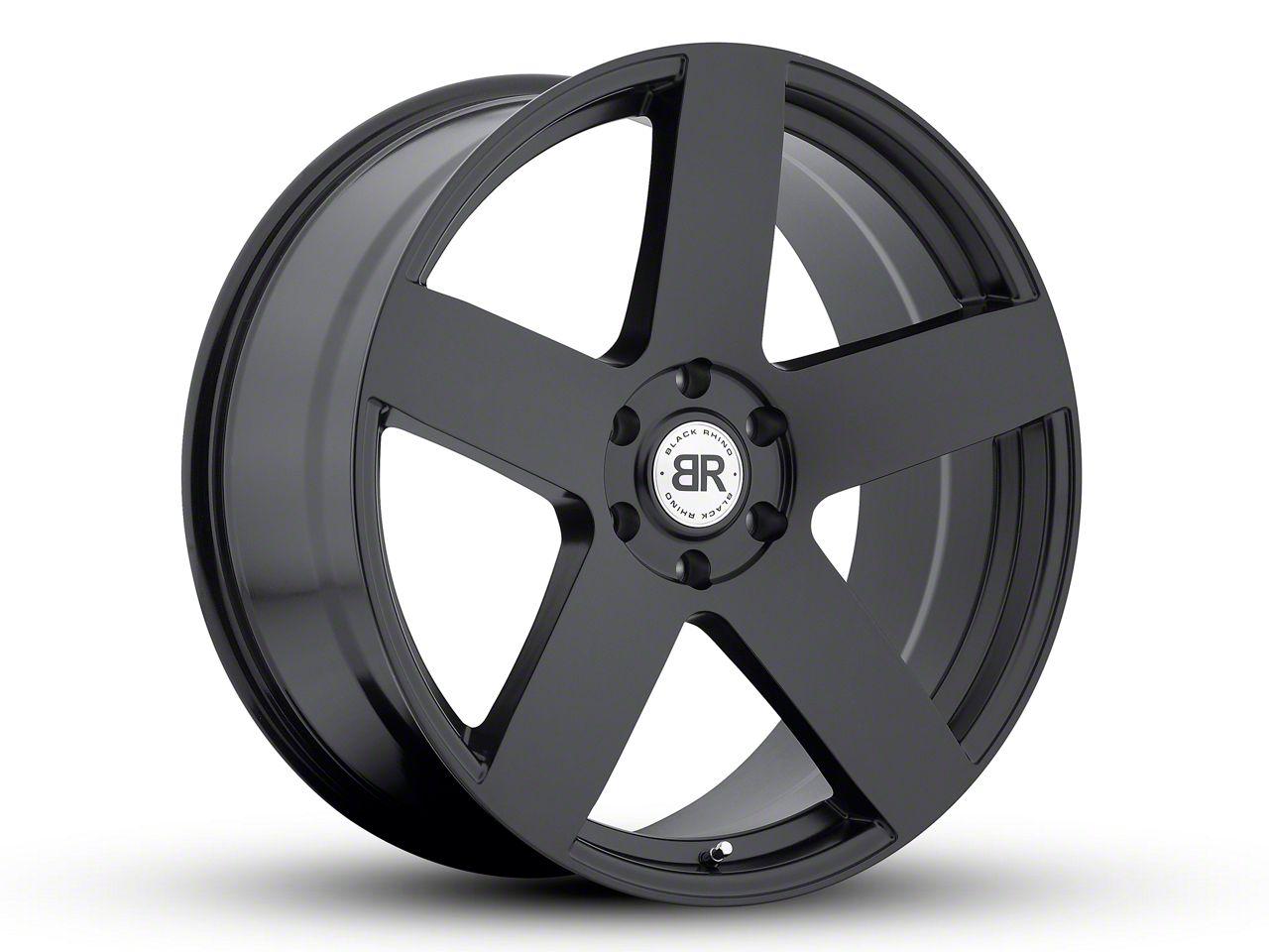 Black Rhino Everest Matte Black 6-Lug Wheel - 22x9.5 (99-18 Silverado 1500)