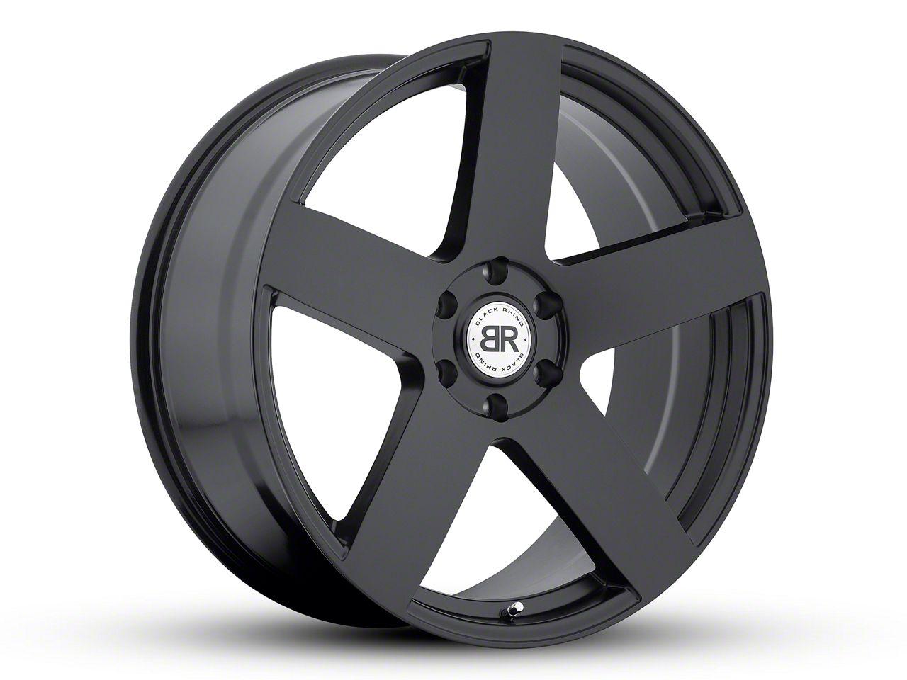 Black Rhino Everest Matte Black 6-Lug Wheel - 24x10 (99-18 Silverado 1500)