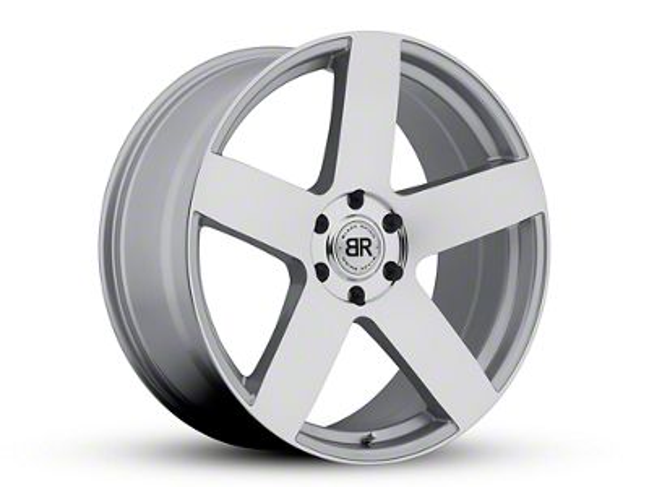 Black Rhino Everest Silver 6-Lug Wheel - 22x9.5 (99-18 Silverado 1500)