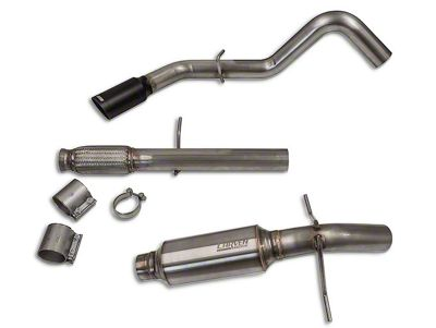 Carven Exhaust Progressive Series Single Exhaust System - Side Exit (10-18 4.3L Silverado 1500)