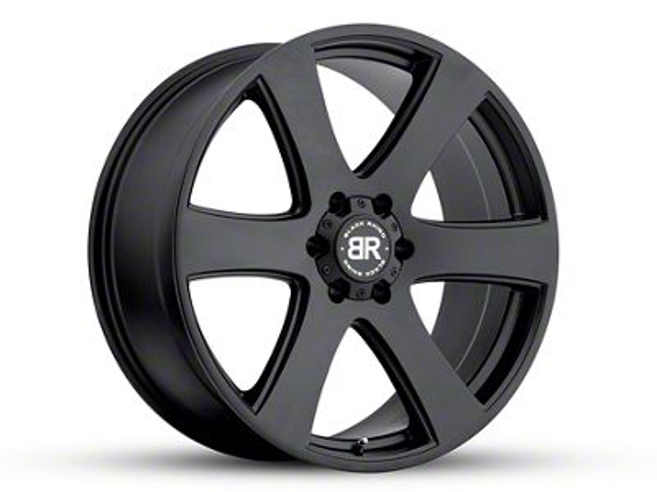 Black Rhino Haka Matte Black 6-Lug Wheel - 20x8.5 (99-18 Silverado 1500)